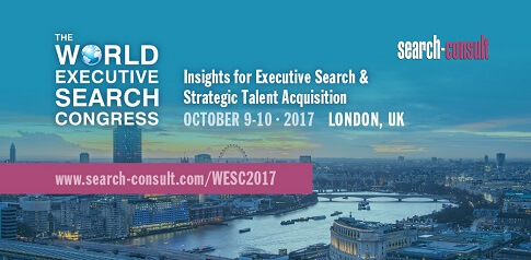 The 2017 World Executive Search Congress, October 9-10, London, UK