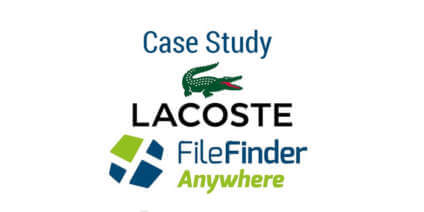 Another satisfied FileFinder Anywhere Executive Search Software client