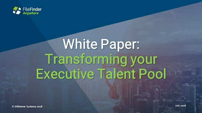 How To Transform Executive Search Data into a Viable Talent Pool