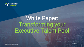 Download a white paper to learn how to transform your Executive Search talent pool