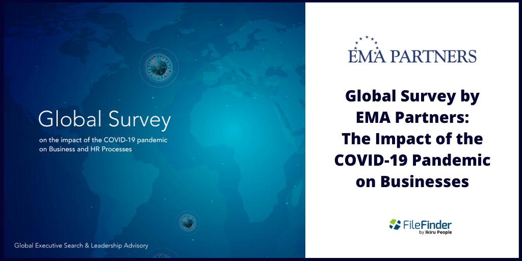 Global survey COVID-19: Impact on business by EMA Partners