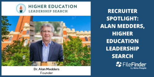 Recruiter Spotlight: Alan Medders, Founder of Higher Education Leadership Search