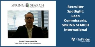 Recruiter Spotlight: Leon Commissaris, SPRING SEARCH International