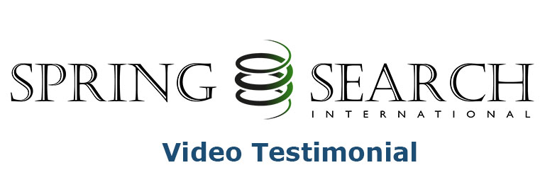 SPRING SEARCH International recommends FileFinder Executive Search Software